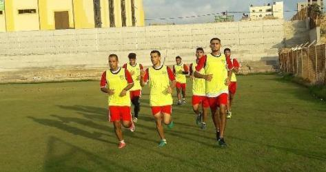 غزة الرياضي يستأنف تدريباته استعداداً لإياب الدوري
