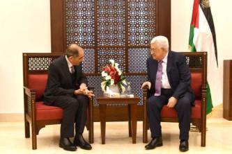 الرئيس عباس يلتقي وزير الداخلية الأردني في بيت لحم