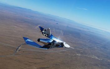 فيرجن غالاكتيك تطلق أولى رحلاتها السياحية للفضاء في خلال شهور
