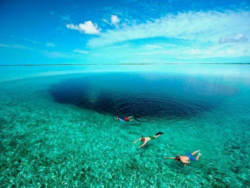 الحفرة الزرقاء العظمى.. إحدى عجائب الطبيعة المذهلة