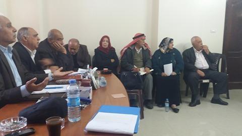 الهيئة الوطنية للمتقاعدين العسكريين تعقد اجتماعا استثنائيا بغزة