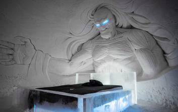 نظرة على الفندق الثلجي المستوحى من مسلسل لعبة العروش بفنلندا