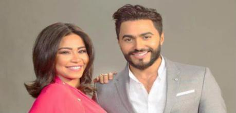هل تشارك شيرين عبد الوهاب تامر حسني في فيلم جديد؟