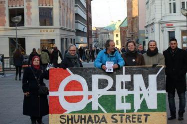 """انطلاق حملة """"فتح شارع الشهداء"""" في الدنمارك"""