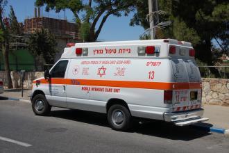 اسعاف اسرائيلي