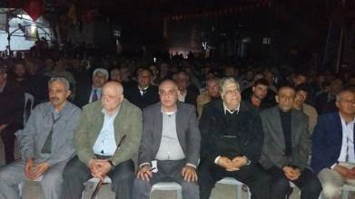المتقاعدون العسكريون يشاركون بحفل تأبين الراحل ابو غسان العجرمي بمعسكر جباليا