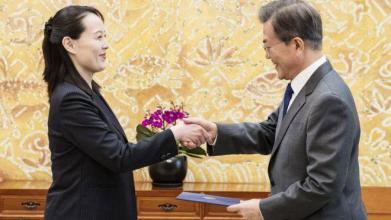 """زعيم كوريا الشمالية يدعو جاره الجنوبي لزيارته """"في أقرب وقت"""""""