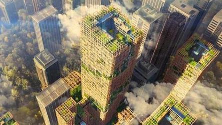اليابان تسعى لبناء ناطحة سحاب خشبية ستكون الأطول بالعالم