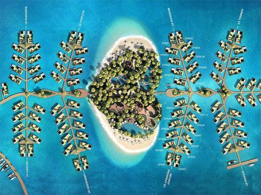 إلى الأزواج.. جزيرة حُب تنتظركم في دبي