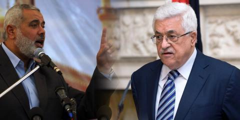 محمود عباس واسماعيل هنية