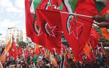 الديمقراطية تحذر من خطورة التوقيت السياسي المشبوه الذي تطرح فيه أميركا وتل أبيب مشاريع انسانية بغزة