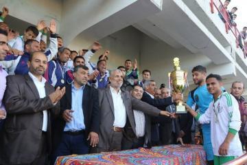 تتويج خدمات رفح بلقب بطولة الناشئين بغزة