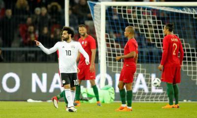 رونالدو يحبط رائعة صلاح.. البرتغال تقلب الطاولة على مصر