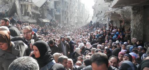 مجموعة العمل: تهجير عائلات فلسطينية قسرًا من الغوطة الشرقية