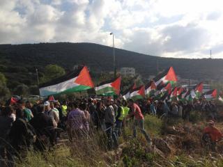 فلسطينيو لبنان يحيون ذكرى يوم الأرض