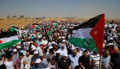 مليون رسالة جوال ستصل سكان قطاع غزة بشأن مسيرات العودة