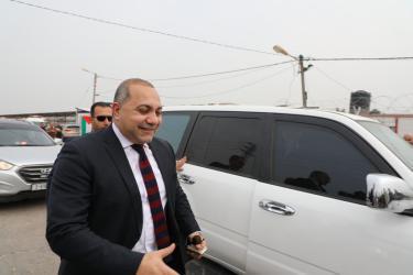 الوفد المصري في قطاع غزة ،اللواء سامح نبيل