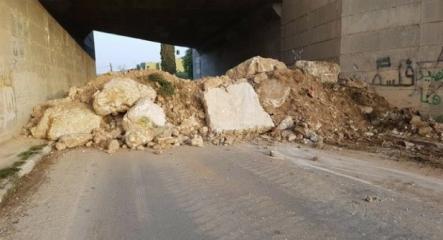 الاحتلال يغلق المدخل الرئيس لبلدة مادما جنوب نابلس