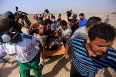 وزارة الرياضة في غزة: 30 رياضياً اصابهم رصاص الاحتلال