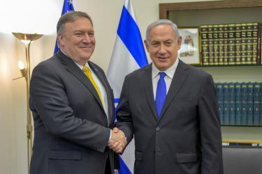 نيويورك تايمز: بومبيو يتجاهل قضية فلسطين على حساب إيران