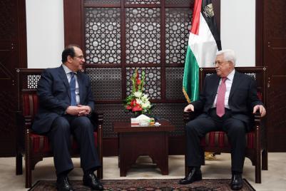 تفاصيل اجتماع الرئيس عباس برئيس المخابرات المصرية في رام الله