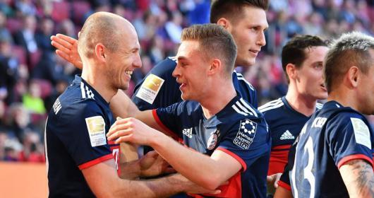 بايرن ميونيخ بطلًا للدوري الألماني لكرة القدم للمرة السادسة تواليًا