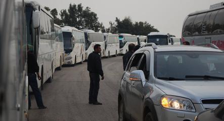 """اتفاق بين الجيش السوري ومسلحي """"جيش الإسلام"""" بخروج الأخير من دوما إلى جرابلس"""