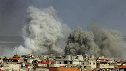 17 شهيداً مدنياً بقصف للنظام السوري على مخيم اليرموك