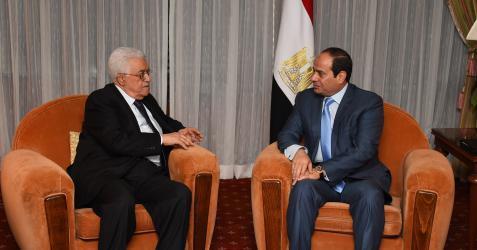 عبد الفتاح السيسي ومحمود عباس