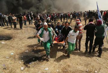بينهم صحفيان.. 102 شهيداً منذ اعلان ترامب بشأن القدس