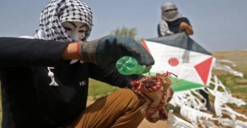 وثائق تكشف قرار الاحتلال حول التعامل مع الطائرات الورقية في قطاع غزة