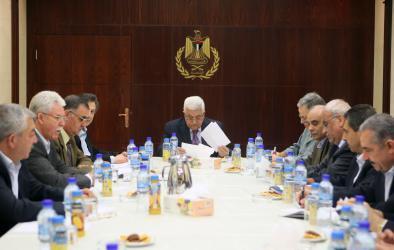 القيادة الفلسطينية تقرر انضمام فلسطين لعدد من المنظمات الدولية وتحيل ملف الاستيطان للجنائية الدولية