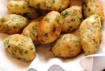 كرات كفتة البطاطا