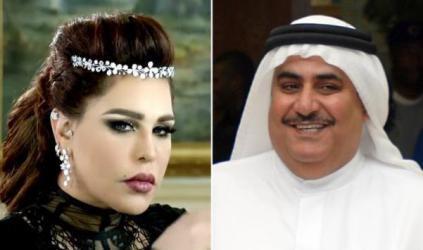 """هكذا تغزل وزير خارجية البحرين بـ """"أحلام"""""""
