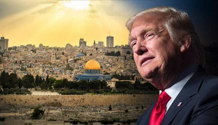 """ناقشها ترامب مع """"إسرائيل ومصر والسعودية والامارات"""" خطته تمنح الفلسطينيين دولة على نصف الضفة"""