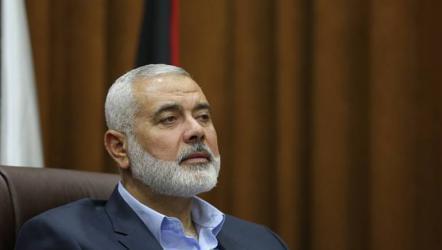 هنية: استقبلنا عروض وتصورات خلال الفترة الماضية لإنهاء حصار غزة
