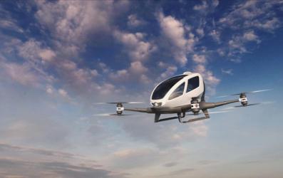 أوبر تكشف عن نموذج سيارتها الطائرة التي قد تدخل الخدمة بحلول 2020
