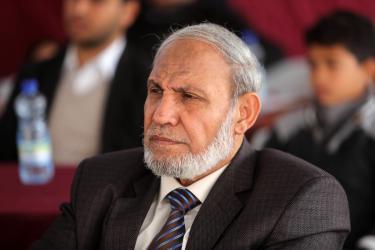 """الزهار: """"حماس"""" ستقود الانتخابات المقبلة ودول عربية تؤخر التحرير"""