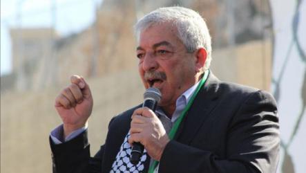 العالول يوجه خطاباً مهماً للشعب الفلسطيني.. وهذه أهم بنوده