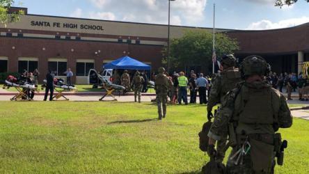 قتلى في حادث إطلاق نار بمدرسة في ولاية تكساس الأمريكية