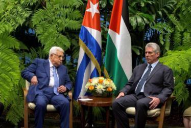 كوبا ترفض نقل السفارة الأمريكية وتدعم إقامة الدولة الفلسطينية