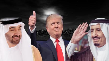 السعودية والإمارات تواجهان خطر الملاحقة لدعمهما ترامب
