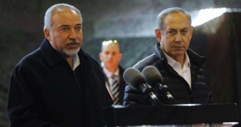 نتنياهو وليبرمان: الوقت ليس مناسبًا لمواجهة حماس عسكريًا
