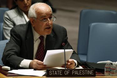منصور: مجلس الأمن ينظر في الأحداث الأخيرة بفلسطين