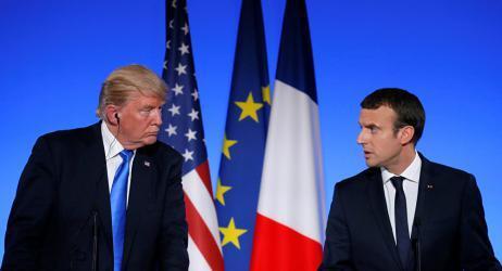 ماكرون يحذر من حرب إذا انسحب ترامب من الاتفاق النووي