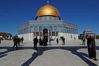 """خطة """"تصعيد مشترك"""" للحد من أهمية إفتتاح مقر السفارة الأمريكية في القدس"""