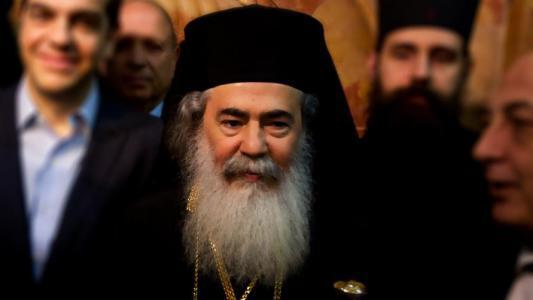 إدانات لاستضافة القنصل التركي بالقدس البطريرك ثيوفيلوس