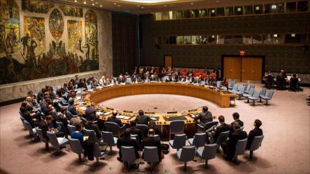 """مجلس الأمن يؤجل التصويت على مشروع قرار """"حماية الفلسطينيين"""""""