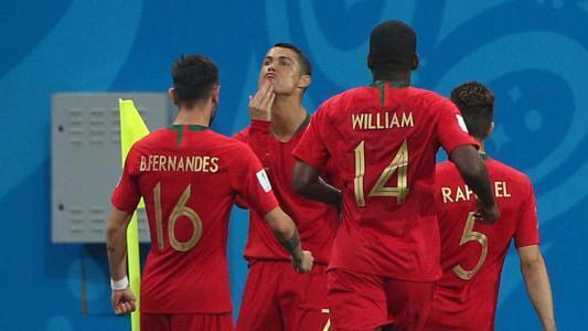 ميسي سبب احتفال رونالدو الغريب أمام اسبانيا في كأس العالم روسيا 2018
