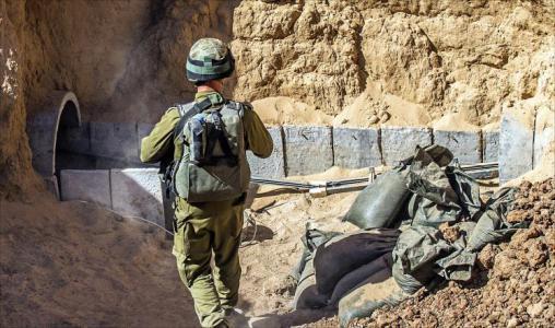 """الاحتلال ينشئ وحدة """"للحرب تحت الأرض"""" لمواجهة أنفاق غزة"""